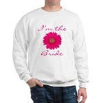 Pink Daisy Bride Sweatshirt
