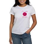 Pink Daisy Bride Women's T-Shirt