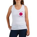 Pink Daisy Bride Women's Tank Top