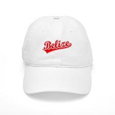 Retro Belize (Red) Baseball Cap
