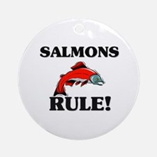 Salmons Rule! Ornament (Round)