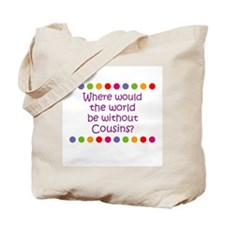 Where would the world be with Tote Bag