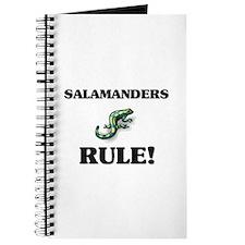 Salamanders Rule! Journal