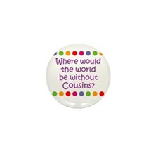 Where would the world be with Mini Button (10 pack