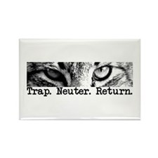 Trap. Neuter. Return. Rectangle Magnet