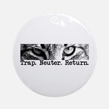 Trap. Neuter. Return. Ornament (Round)