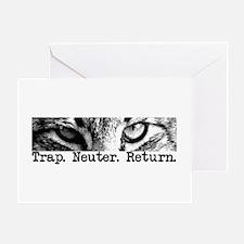 Trap. Neuter. Return. Greeting Card