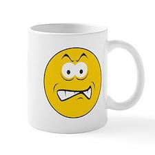 Snarling/Growling Smiley Face Mug