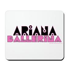 Ariana Ballerina Mousepad