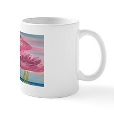 Sassy Flamingos Art Mug