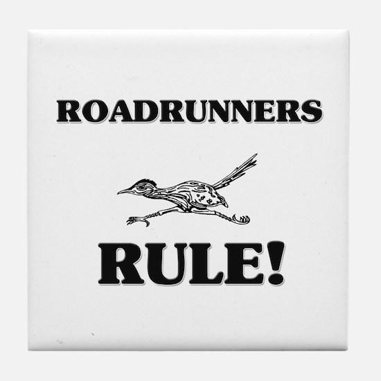 Roadrunners Rule! Tile Coaster