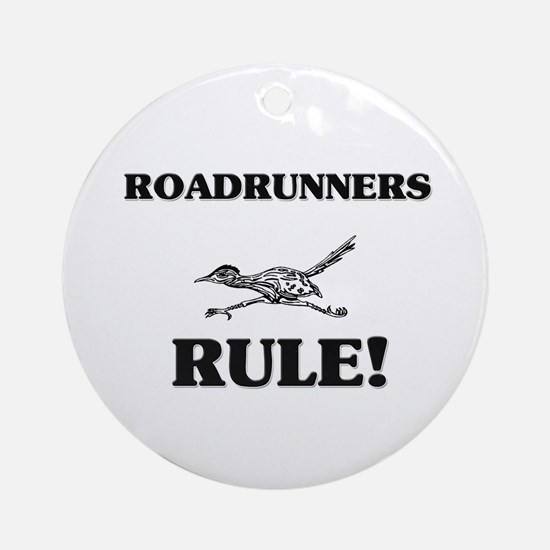Roadrunners Rule! Ornament (Round)