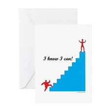 I can - weight loss Greeting Card