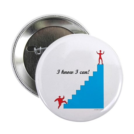 """I can - weight loss 2.25"""" Button (10 pack)"""