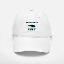 Right Whales Rule! Baseball Baseball Cap