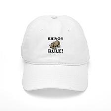 Rhinos Rule! Baseball Cap
