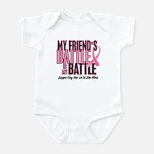 My Battle Too 1 (Friend BC) Infant Bodysuit