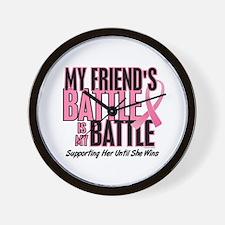My Battle Too 1 (Friend BC) Wall Clock