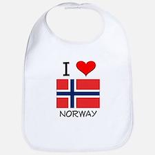 I Love Norway Bib