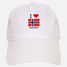 I Love Norway Baseball Baseball Cap