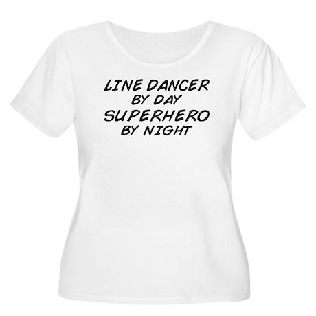 Line Dancer Superhero by Night Women's Plus Size S