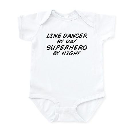 Line Dancer Superhero by Night Infant Bodysuit
