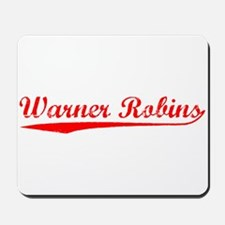 Vintage Warner Rob.. (Red) Mousepad