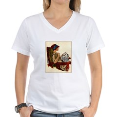 Flapper with Embroidery Hoop Shirt