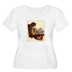 Flapper with Embroidery Hoop T-Shirt