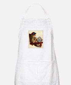 Flapper with Embroidery Hoop BBQ Apron