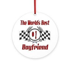 Racing Boyfriend Ornament (Round)