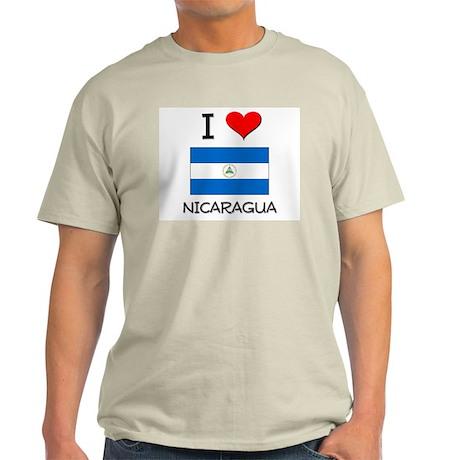 I Love Nicaragua Light T-Shirt