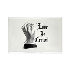 Love is Crewel Rectangle Magnet