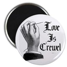 Love is Crewel Magnet
