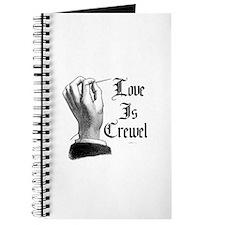 Love is Crewel Journal