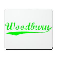 Vintage Woodburn (Green) Mousepad