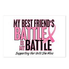 My Battle Too 1 (Best Friend BC) Postcards (Packag