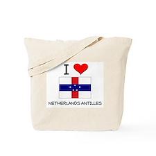 I Love Netherlands Antilles Tote Bag