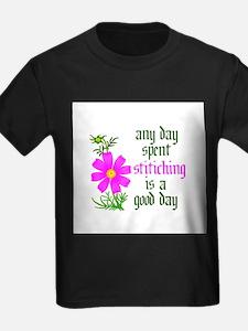 Any Day Spent Stitching - Goo T