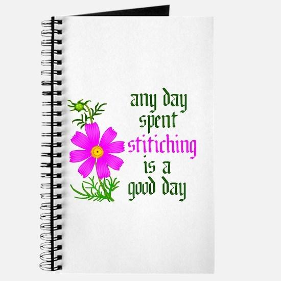 Any Day Spent Stitching - Goo Journal