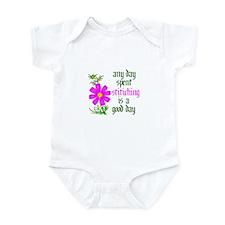 Any Day Spent Stitching - Goo Infant Bodysuit