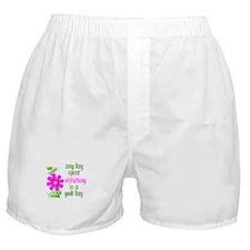 Any Day Spent Stitching - Goo Boxer Shorts