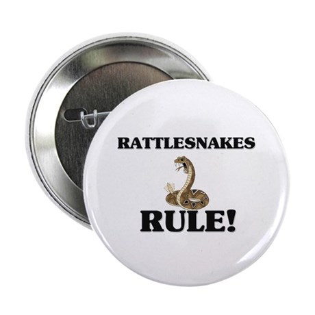 """Rattlesnakes Rule! 2.25"""" Button (10 pack)"""