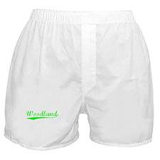 Vintage Woodland (Green) Boxer Shorts