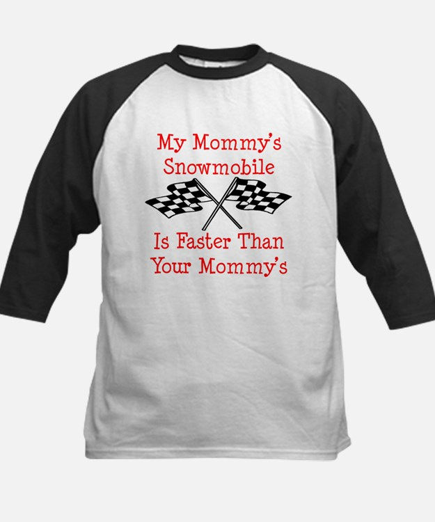 Mommys Snowmobile Is Fast Tee