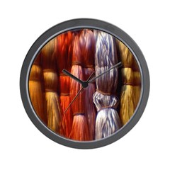 Embroidery Floss - Needlework Wall Clock