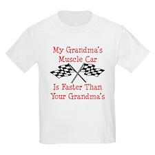 Grandmas Muscle Car Is Fast T-Shirt