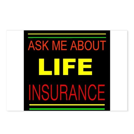 INSURANCE Postcards (Package of 8)