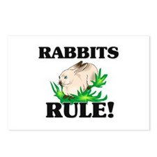 Rabbits Rule! Postcards (Package of 8)