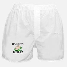 Rabbits Rule! Boxer Shorts